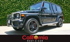 Mercedes Benz G63 now available for rent. (PRNewsFoto/California Rent A Car)