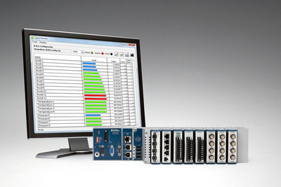 Available on the LabVIEW Tools Network, Chameleon software is designed to work with a variety of NI CompactDAQ chassis, including the new stand-alone system.  (PRNewsFoto/National Instruments)