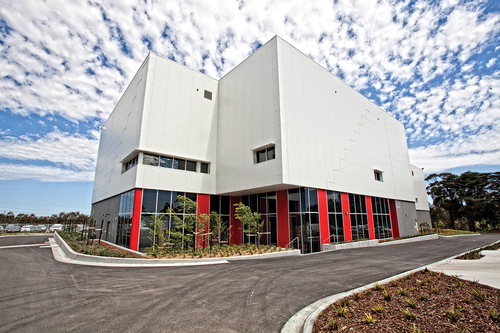 CSL Behring's new biotechnology manufacturing facility in Melbourne, Australia. It is one of the largest and most advanced facilities of its kind in the world and will produce novel recombinant therapies on a large scale for international clinical trials. (PRNewsFoto/CSL Behring)