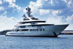 Oceanco's new 89 meter INFINITY is the superyacht industry's first delivery in 2015