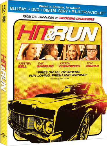 Hit & Run available on Blu-ray Combo Pack & DVD on January 8, 2013.  (PRNewsFoto/Universal Studios Home Entertainment)