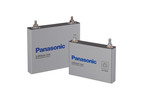 Lithium-ion battery cell for plug-in hybrid vehicles (left) and hybrid electric vehicles (right).  (PRNewsFoto/Panasonic)