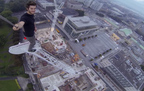 100m crane scaled in broad daylight – James Kingston POV video | Southampton