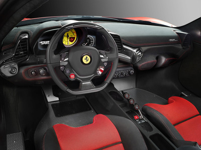 Ferrari 458 Speciale.  (PRNewsFoto/Alcantara)