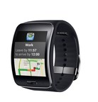 Samsung Gear S owners now can get traffic alerts and recommended departure times in traffic for upcoming trips from their INRIX XD Traffic app right on their smartwatch.