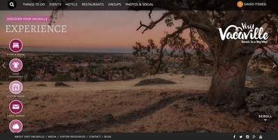 Visit Vacaville launches a new website with the help of Tempest Interactive Media