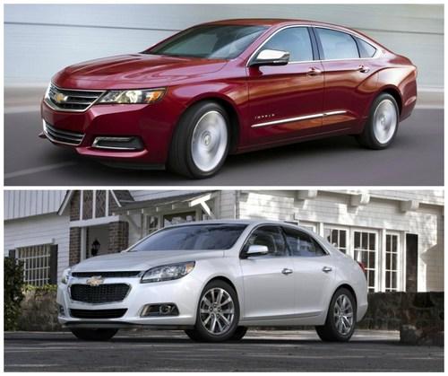 2015 models of Chevy Malibu and Impala roll into Robbins ...