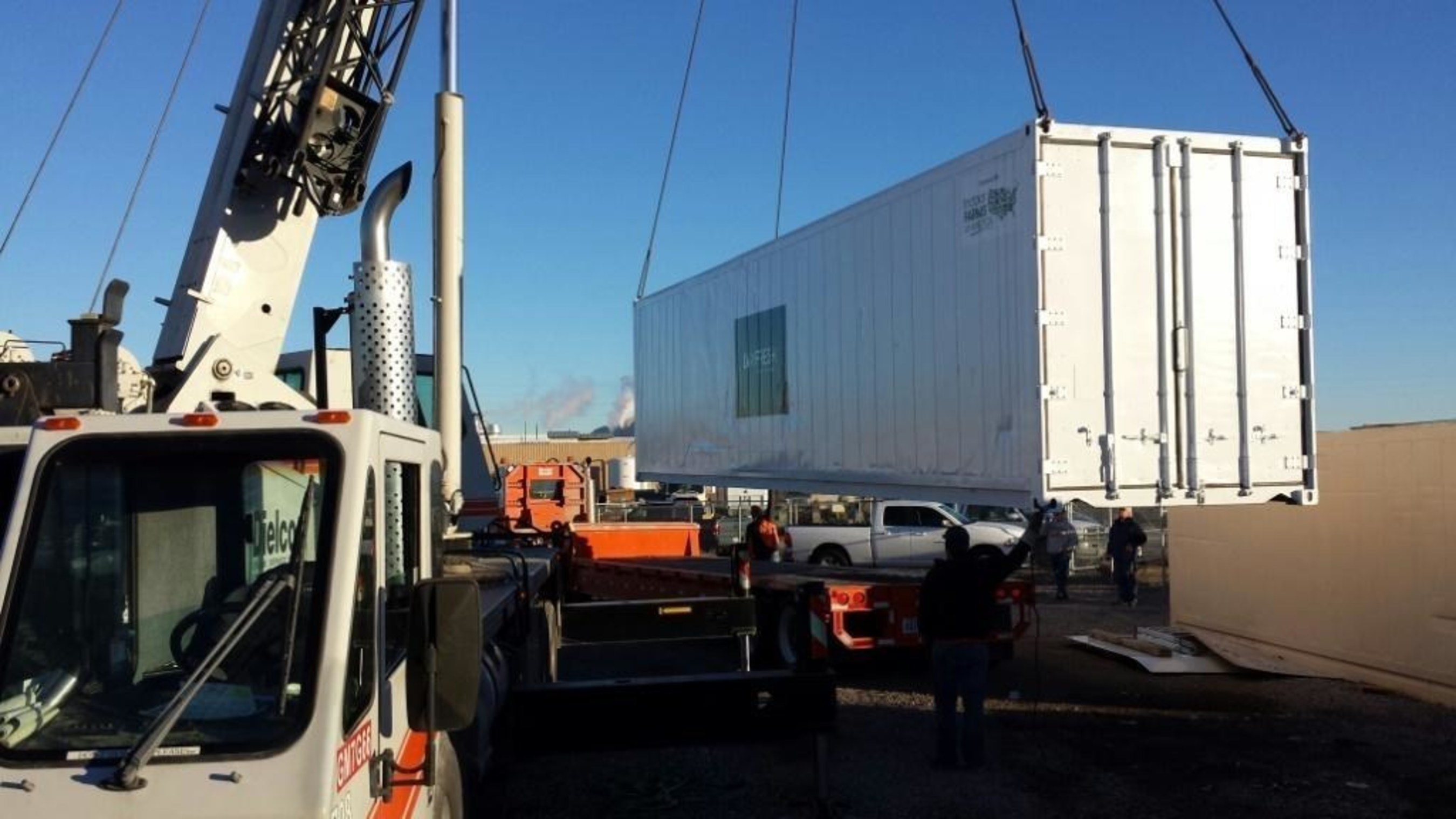 First Ultra High Yield Aeroponic Container Farm Delivered In U.S. Centers Around Patented Vertical