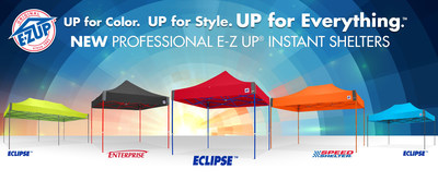 E-Z UP is the original Instant Shelter(R) Brand. For more information on E-Z UP Instant Shelters or any other portable products or accessories, visit www.EZUP.com, contact media@ezup.com or 951-719-1040.