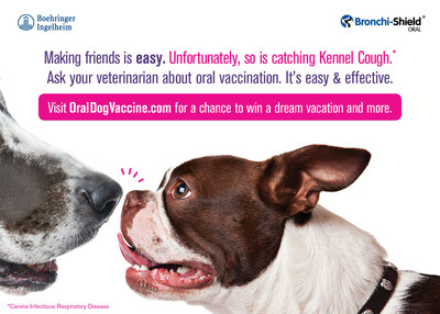 Visit www.OralDogVaccine.com.  (PRNewsFoto/Boehringer Ingelheim)
