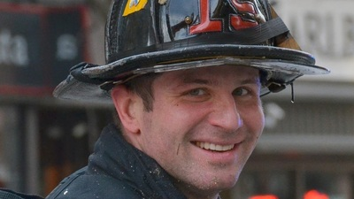 On May 22, Big Brothers Big Sisters of Massachusetts Bay will pay tribute to fallen firefighter Michael Kennedy of Boston Ladder 15, a Big Brother of seven years. For more information about the annual Big of the Year Gala, visit http://www.bbbsmb.org. (PRNewsFoto/Big Brothers Big Sisters of M...)