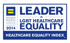 The Children's Hospital of Philadelphia has been recognized as a 2014 LGBT Healthcare Equality Leader by the Human Rights Campaign