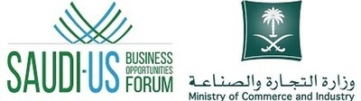 Saudi-US Business Opportunities Forum logo (PRNewsFoto/Ministry of Commerce & Industry)
