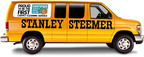 Stanley Steemer's iconic yellow van now proudly boasts that Stanley Steemer is the first carpet cleaning service to be certified asthma & allergy friendly.  (PRNewsFoto/Stanley Steemer)