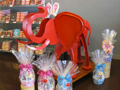 Join Red Elephant Chocolate for their Easter Eggstravaganza,  March 23-24 from 10:30am - 4:30pm.  (PRNewsFoto/Red Elephant Chocolate)