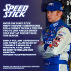 Speed Stick and NASCAR Driver Cole Whitt Invite Fans to #DefytheDoubt for a Chance to Win Tickets to a Race this Season