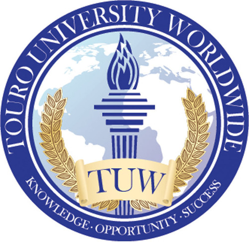 Touro University Worldwide Logo.  (PRNewsFoto/Touro University Worldwide)