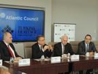 From left: Halil Danismaz, Dr. Fuat Oktay, Fmr. Ambassador Francis Ricciardone, Ali Cinar