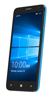 ALCATEL ONETOUCH introduces the Fierce XL with Windows 10 Mobile coming soon to T-Mobile stores nationwide