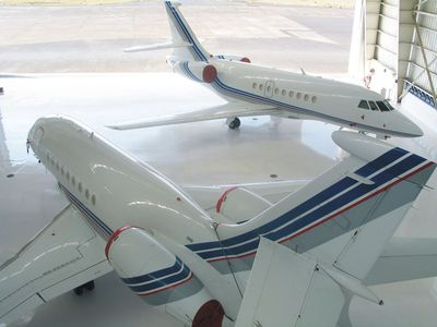 Dassault Falcon expands maintenance capability with Taj Air in India.