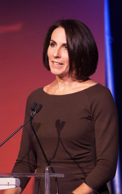 Andrea Ferris, president of leading lung cancer nonprofit LUNGevity Foundation and recipient of the prestigious Daily Point of Light Award for her work as an advocate and pioneer in the field of lung cancer.