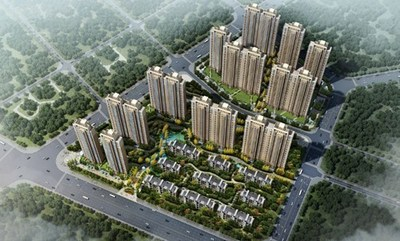 Xiamen International Trade Group has ordered 169 Otis elevators for its high-end residential projects now under development in China's southeastern Fujian province, including this one, Xiamen ITG Top Mansion.