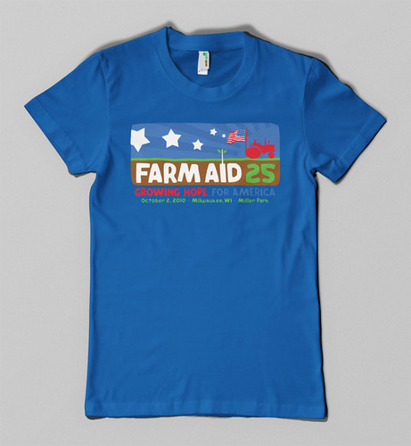 Anvil Knitwear Unveils 'Message From Earth: Organic Matters' Digital Short at Farm Aid: 25 Growing