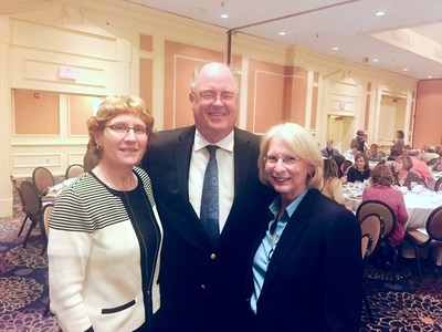 Andrea Fox, David Sullivan and Diane Scherrer.