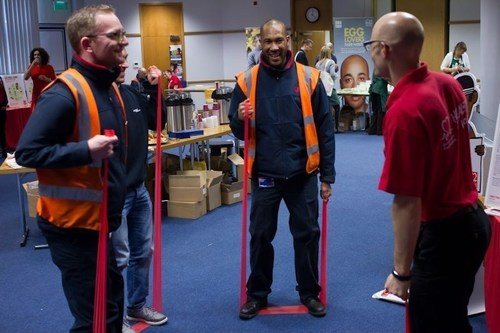 Employees and community stakeholders were invited to an employee well being event at Unipart House in Oxford as part of Unipart's Workwell programme. (PRNewsFoto/Unipart Group)