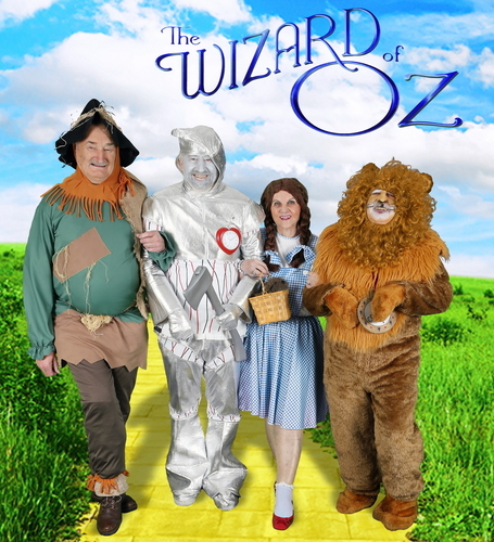 ExtraCare Charitable Trust Shenley Wood Village residents dress up for The Wizard of Oz for the Villageâeuro(TM)s 2015 Hollywood Calendar (PRNewsFoto/The ExtraCare Charitable Trust)