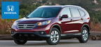 The 2014 Honda CR-V available at Spreen Honda looks to continue its best-selling ways throughout the new model year. (PRNewsFoto/Spreen Honda)