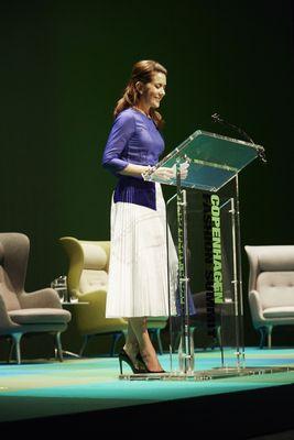HRH Crown Princess Mary of Denmark - Copenhagen Fashion Summit.
