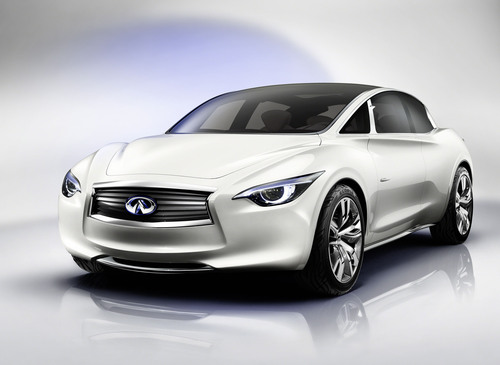 Infiniti ETHEREA: The Compact Luxury Car Re-imagined