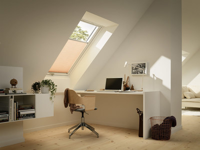 Brighten your home office niche with a roof, window, or a solar-powered, fresh-air skylight while bringing natural light and fresh air into the work space. Energy Star-qualified, solar-powered, fresh-air skylights from Velux America close automatically in case of rain, have three layers of water protection, and carry a 10-year warranty against leaks.  Operated by programmable touchpad remote control, solar skylights, blinds, and installation costs are eligible for a 30 percent federal tax credit...