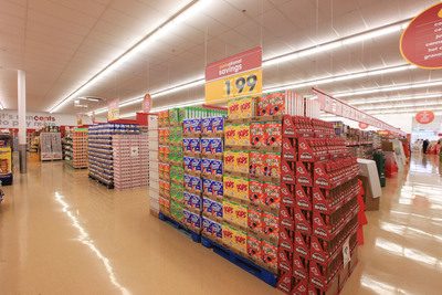 The new Good Cents Grocery + More will also offer groceries with a popular mix of name brand national and regional brands alongside Food Club and Valu Time store brands.  (PRNewsFoto/Giant Eagle, Inc.)
