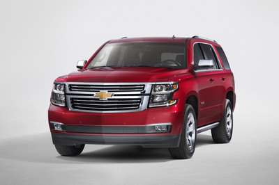 The 2015 Chevy Tahoe will be available at Bounds Autoplex in early spring of 2014.  (PRNewsFoto/Bounds Autoplex)