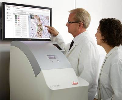 Aperio(R) AT2 Scanner for On-Screen Diagnosis.