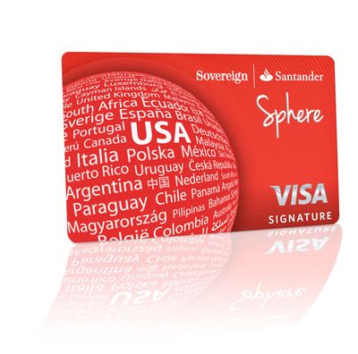 Sphere(SM) is Here: Sovereign Bank announced the launch of Sphere(SM), the new Sovereign Visa Signature Credit Card.  (PRNewsFoto/Sovereign Bank)