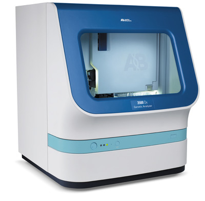 Applied Biosystems(TM) 3500 Dx CS2 Genetic Analyzer from Life Technologies Corporation.  (PRNewsFoto/Life Technologies Corporation)
