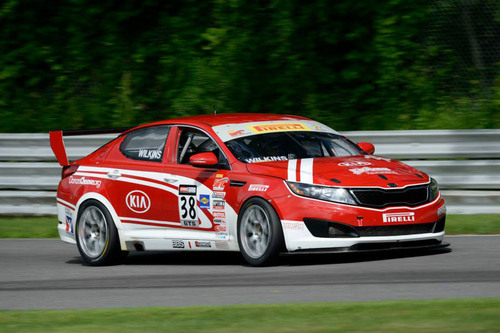 After Podium Finish At Lime Rock, Mark Wilkins And Kia Racing Sit Second In Pirelli World Challenge