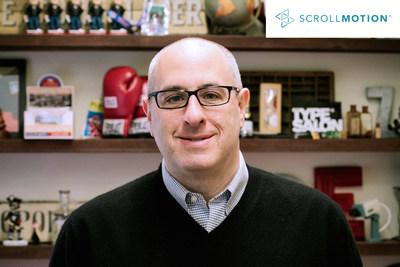 Joe Zeff, ScrollMotion VP/Executive Creative Director (PRNewsFoto/ScrollMotion)