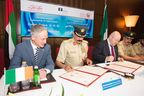 Minister Bruton announces Mater Private Healthcare Group agreement with Dubai Police.