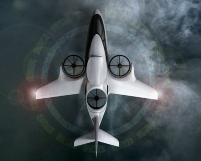 A two-thirds piloted subscale prototype of the TriFan 600 will be powered by a Honeywell HTS900 engine.