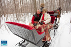 Door County, Wisconsin - romantic winter travel packages at DoorCounty.com.  (PRNewsFoto/Door County Visitor Bureau)