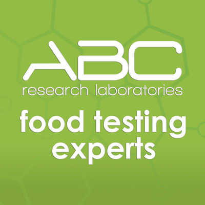 ABC Research Laboratories, an ISO 17025 accredited testing facility, is one of the largest food testing labs in the United States. ABC Research serves the entire spectrum of the food industry from pathogen and pesticide residue testing to nutritional labeling, FDA detention resolution and appliance benchmark testing. Dedication to personalized service, coupled with superior scientific practices, is the foundation of ABC Research Laboratories' success. (PRNewsFoto/ABC Research Laboratories)