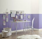 """Lowe's: 4002-8A Sweet Violet/ Ace: VR058C Safe Haven/ Independent Retailers: V037-2 Safe Haven/  A modern blue violet emerges capturing the free-spirited nature of nomadic work styles enabled by technology and embraced by a generation placing less importance on roots, and instead focusing on experiences. This hue is energizing and expressive. """"Part trustworthy blue, part mysterious violet - you might see a bit of both in this hue depending on the time of day,"""" said Kim."""