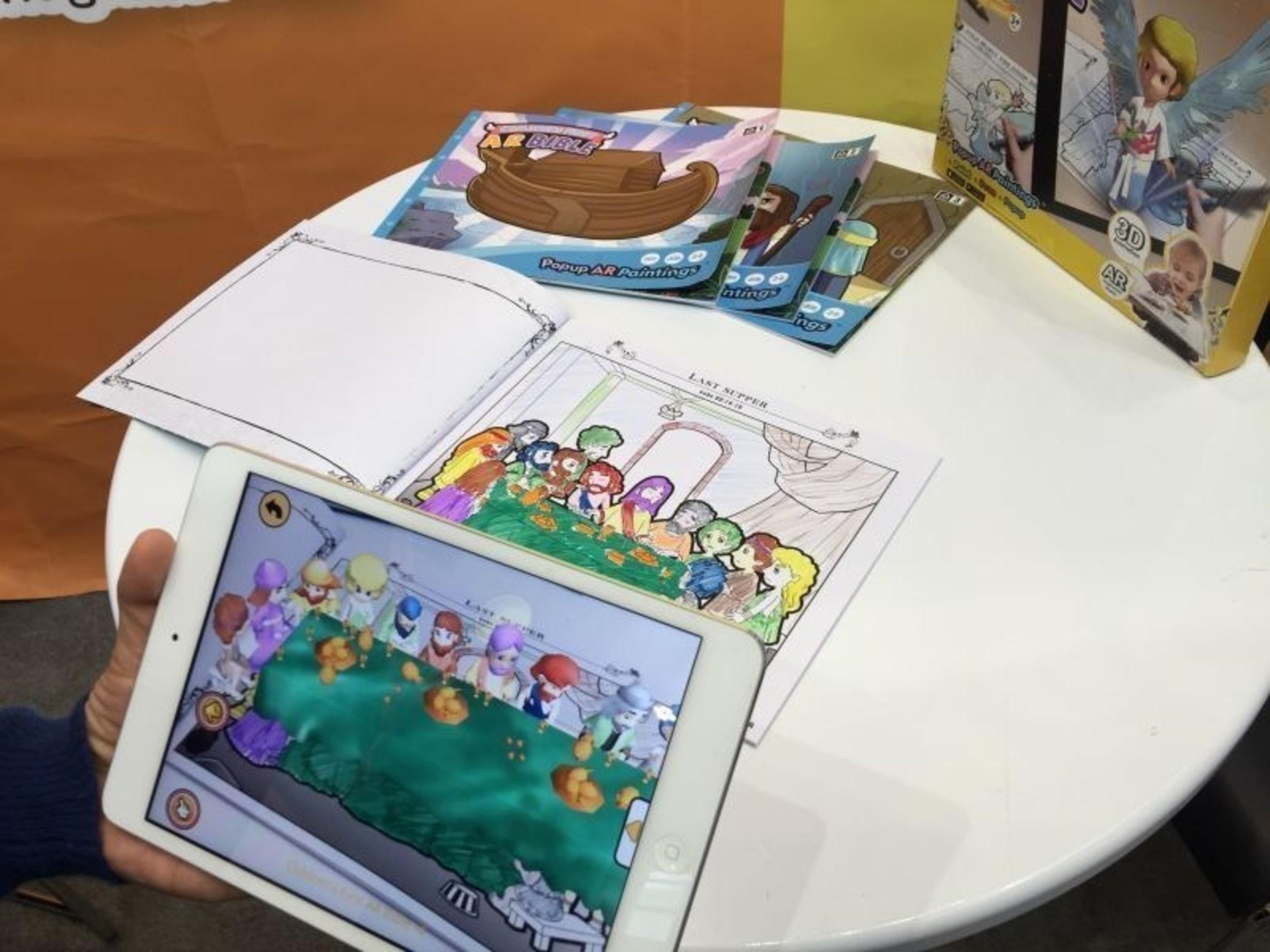 Children's first AR Bible