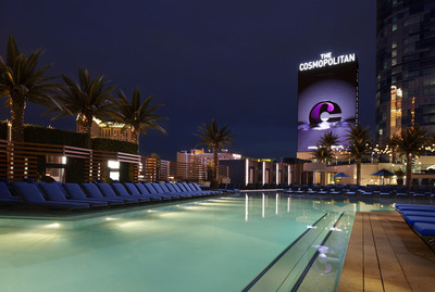 The Cosmopolitan of Las Vegas Makes a Big Splash with the Opening of its One-of-a-Kind Pool District