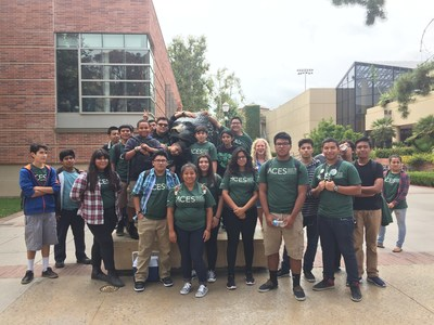 Los Angeles high school students enrolled in the Architecture, Construction and Engineering Students (ACES) Pathway Program get a head start on college and careers.