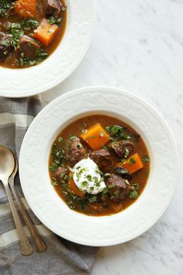 Cider-Braised American Lamb Shoulder Stew